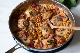 Easy Chicken and Corn Skillet Recipe