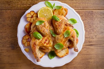 Basil-Lemon Grilled Chicken