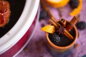 Blackberry Mulled Wine