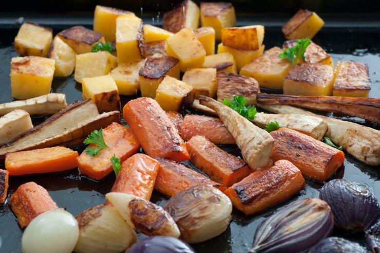 Mixed Roasted Veggies (Winter)