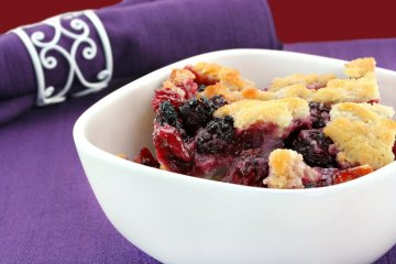 Best-In-Show Blackberry Cobbler.