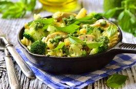 Easy Broccoli Pesto Pasta