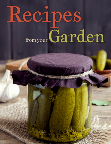 Recipes from your Garden