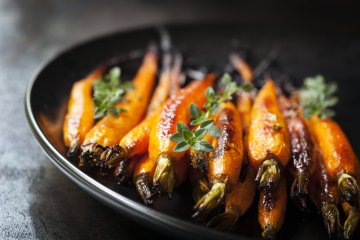 Fancy Honey-Glazed Roasted Carrots Recipe