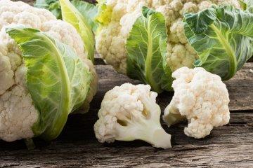 Cauliflower and florets