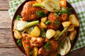 One-pot chicken with fennel and tomatoes