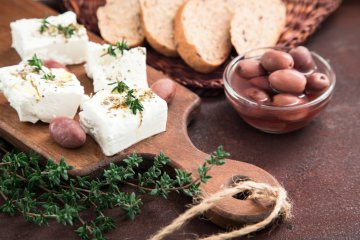 Feta and Olive Bake with Thyme