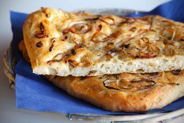 Onion-Topped Focaccia Bread