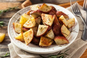 Roasted Potatoes with Lemon Thyme