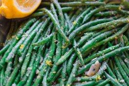 Roasted Lemon-Garlic Green Beans Recipe