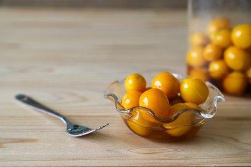 Kumquats preserved in honey