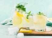 Herbal dill lemonade