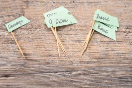 How to Make Cute Herb Stakes for Your Garden