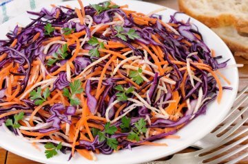 Colorful Carrot Slaw
